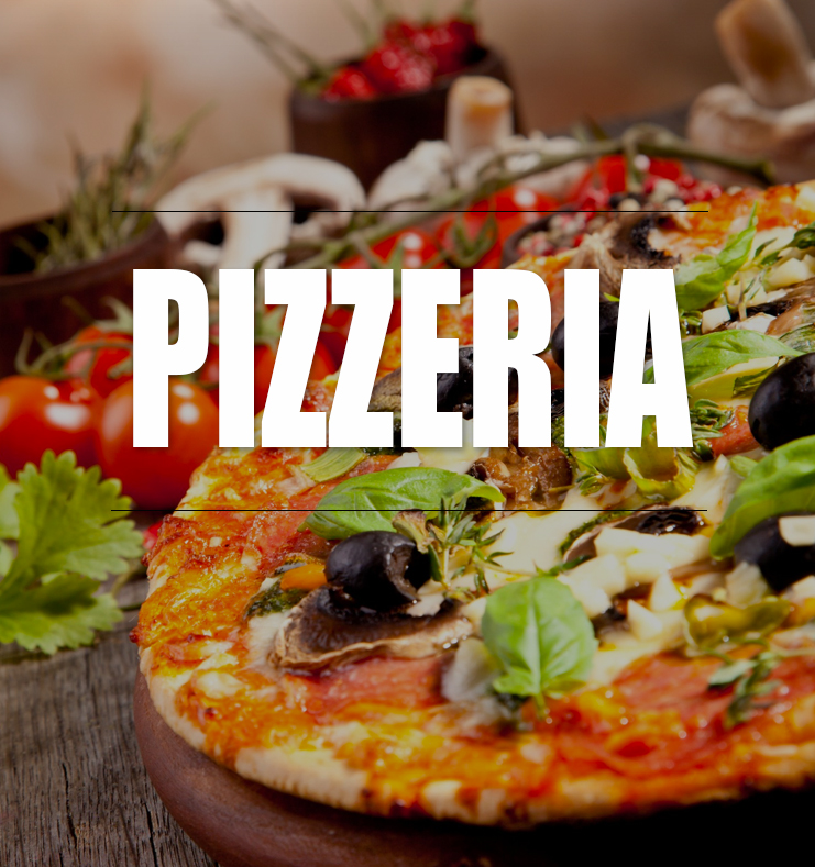 A huge selection of Pizzas